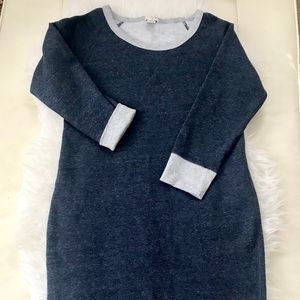 NWOT JCrew sweater dress, Sweatshirt dress